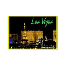 Las Vegas Strip (E) Rectangle Magnet