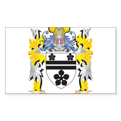 Miazzi Coat of Arms - Family Crest Sticker