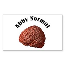 Abby Normal Rectangle Decal