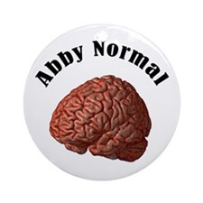 Abby Normal Ornament (Round)
