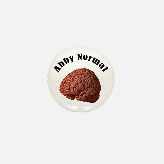 Abby Normal Mini Button
