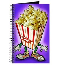 Cute Popcorn humor Journal