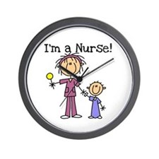 I'm a Nurse Wall Clock