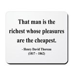 Henry David Thoreau 16 Mousepad