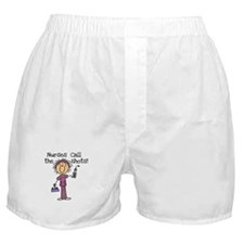 Nurses Call the Shots Boxer Shorts