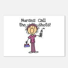 Nurses Call the Shots Postcards (Package of 8)