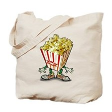 Cute Popcorn humor Tote Bag