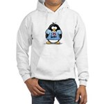 I Love Hugs Penguin Hooded Sweatshirt