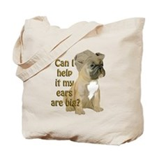 French bulldog Ears Tote Bag