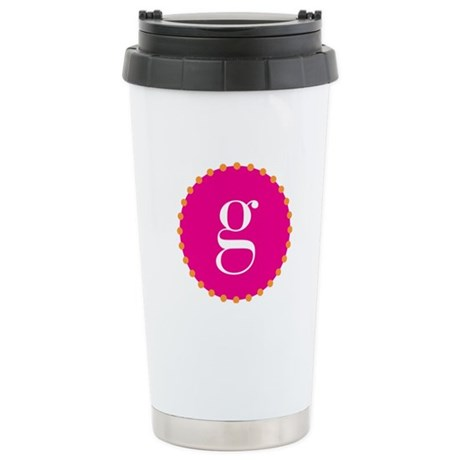 g~pink Stainless Steel Travel Mug