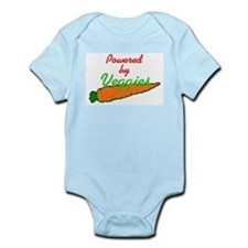 Powered by Veggies Infant Creeper