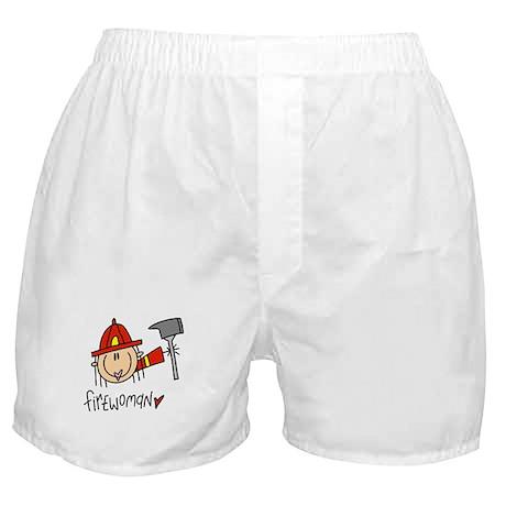 Firewoman Boxer Shorts