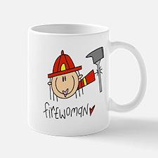 Firewoman Mug