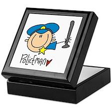 Policeman Keepsake Box