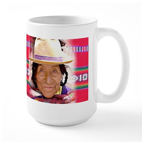 Quetchua Wise Woman - Large Mug