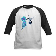 Humming Bird In Blue Tee