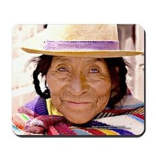 Quetchua Wise Woman - Mouse Pad