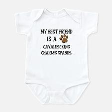 My best friend is a CAVALIER KING CHARLES SPANIEL