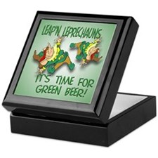 Green Beer Keepsake Box