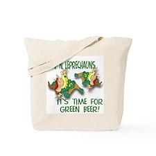 Green Beer Tote Bag