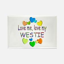 Westie Rectangle Magnet