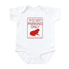 Wizard Parking Onesie