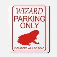 Wizard Parking Mousepad