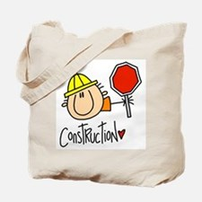 Construction Worker Tote Bag