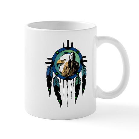 Eagle Chief Dreamcatcher Mug