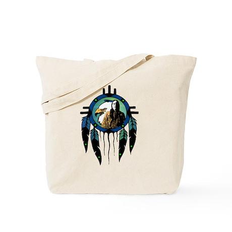 Eagle Chief Dreamcatcher Tote Bag