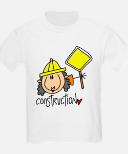 Female Construction Worker T-Shirt