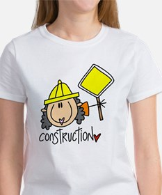 Female Construction Worker Tee