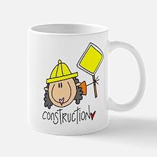 Female Construction Worker Mug