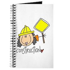 Female Construction Worker Journal