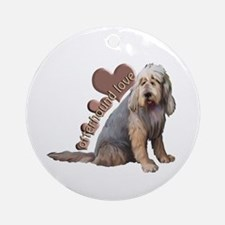 otterhound love Ornament (Round)