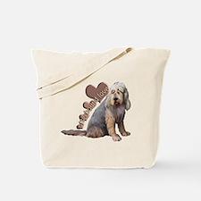 otterhound love Tote Bag
