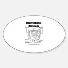 Interventional Radiology The Oval Decal