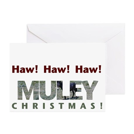 Muley Xmas 2005 Greeting Cards (Pk of 10)