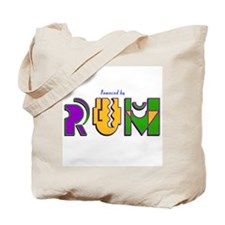 Rum Powered (Mardi Gras) Tote Bag