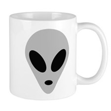 alien head Small Mug