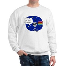 Take Me To Your Library Sweatshirt