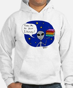 Take Me To Your Library Hoodie
