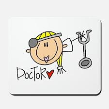 Female Doctor Mousepad