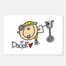 Female Doctor Postcards (Package of 8)