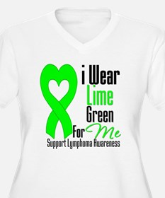 I Wear Lime Green For Me T-Shirt