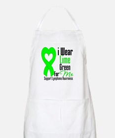 I Wear Lime Green For Me BBQ Apron