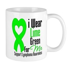 I Wear Lime Green For Me Mug