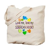 Siberian husky Totes & Shopping Bags