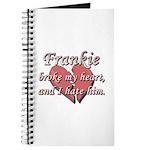 Frankie broke my heart and I hate him Journal