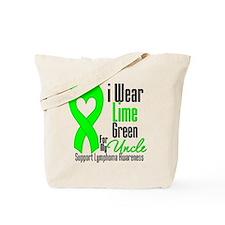 Lymphoma Heart Uncle Tote Bag